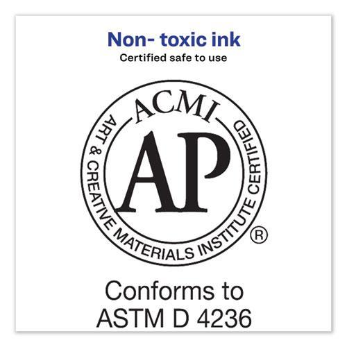 MARKS A LOT Desk-Style Dry Erase Marker, Broad Chisel Tip, Black, Dozen. Picture 6