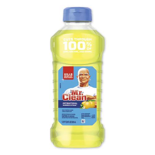 Multi-Surface Antibacterial Cleaner, Summer Citrus, 28 oz Bottle, 9/Carton. Picture 1