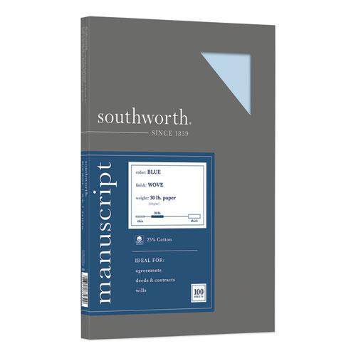 25% Cotton Manuscript Cover, 30lb, 9 x 12.5, 100/Pack. Picture 1