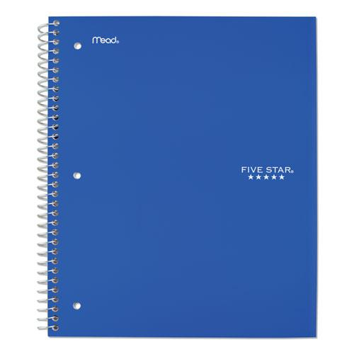 Wirebound Notebook, 5 Subjects, College Rule, Assorted Color Covers, 11 x 8.5, 200 Sheets. Picture 5