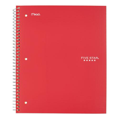 Wirebound Notebook, 5 Subjects, College Rule, Assorted Color Covers, 11 x 8.5, 200 Sheets. Picture 10