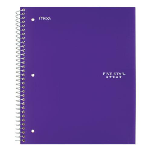 Wirebound Notebook, 5 Subjects, College Rule, Assorted Color Covers, 11 x 8.5, 200 Sheets. Picture 9
