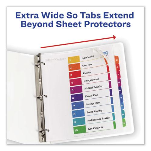 Customizable TOC Ready Index Multicolor Dividers, 8-Tab, Letter. Picture 9