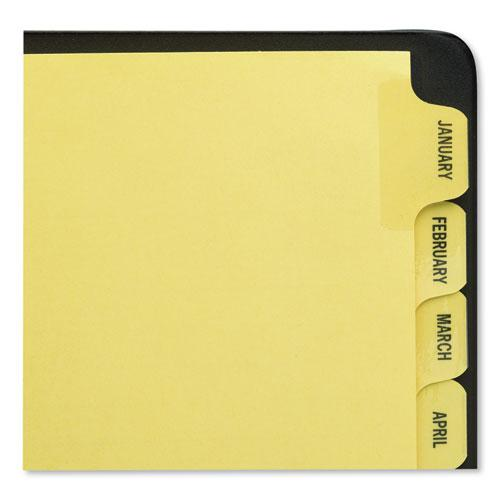Preprinted Laminated Tab Dividers w/Gold Reinforced Binding Edge, 12-Tab, Letter. Picture 5