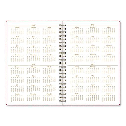Notebook, 1 Subject, College Rule, Berry Cover, 8.5 x 5.75, 80 Sheets. Picture 3