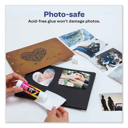 Permanent Glue Stic, 1.27 oz, Applies White, Dries Clear. Picture 6