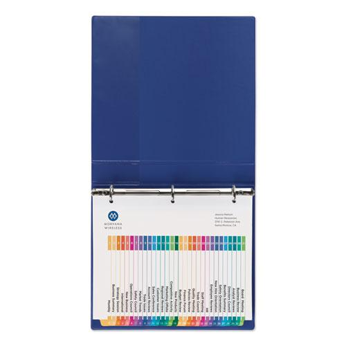 Customizable Table of Contents Ready Index Dividers with Multicolor Tabs, 31-Tab, 1 to 31, 11 x 8.5, White, 1 Set. Picture 2