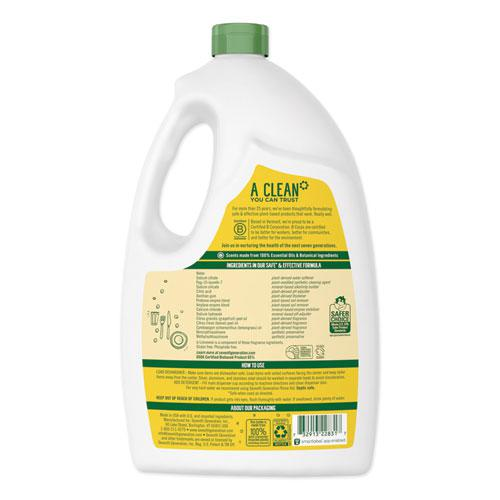 Natural Automatic Dishwasher Gel, Lemon, Jumbo 70 oz Bottle. Picture 3