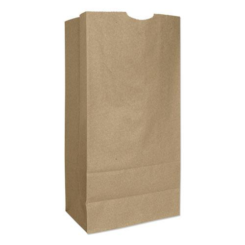 """Grocery Paper Bags, 57 lbs Capacity, #16, 7.75""""w x 4.81""""d x 16""""h, Kraft, 500 Bags. Picture 1"""