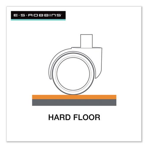 Economy Series Chair Mat for Hard Floors, 45 x 53, Clear. Picture 5