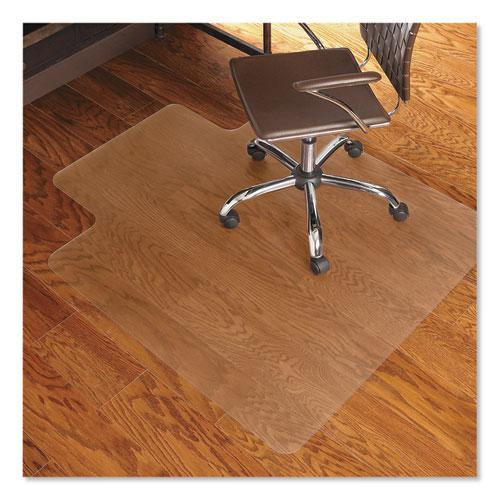 Economy Series Chair Mat for Hard Floors, 45 x 53, Clear. Picture 1