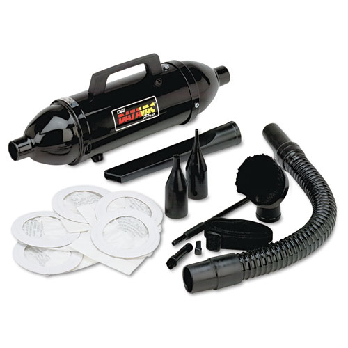 Metro vac portable hand held vacuum and blower with dust for Portable dust collector motor blower