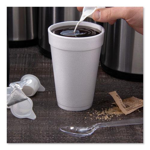 Foam Drink Cups, 16oz, White, 25/Bag, 40 Bags/Carton. Picture 3