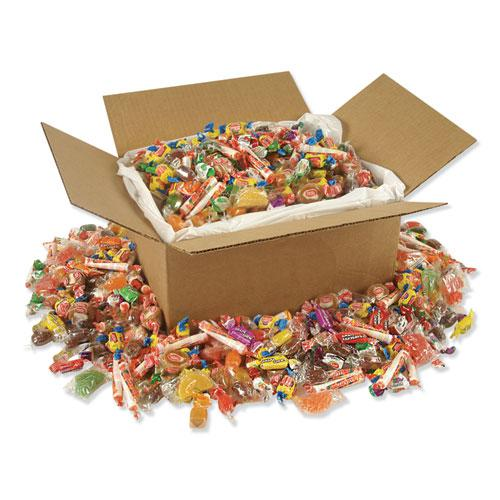 All Tyme Favorites Candy Mix, Individually Wrapped, 10 lb Value Size Box. Picture 1