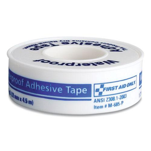 """Waterproof-Adhesive Medical Tape, 1"""" Core, 1"""" x 15 ft, White. Picture 1"""