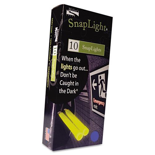 """Snaplights, 6""""l x 3/4""""w, Blue, 10/Box. Picture 1"""