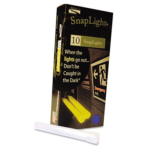 """Snaplights, 6""""l x 3/4""""w, Blue, 10/Box. Picture 2"""