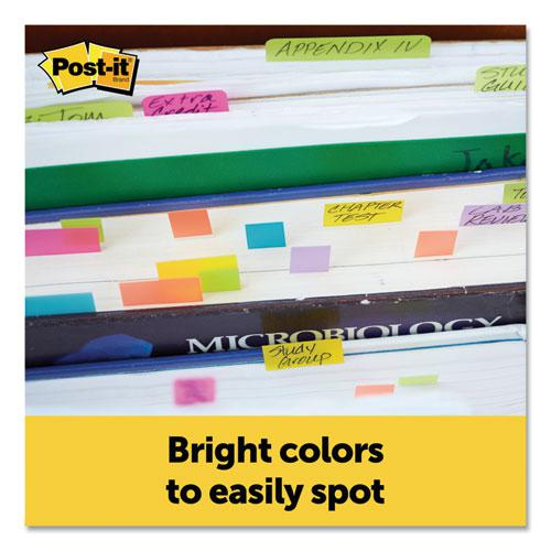 Page Flag Markers, Assorted Brights, 100 Strips/Pad, 5 Pads/Pack. Picture 2