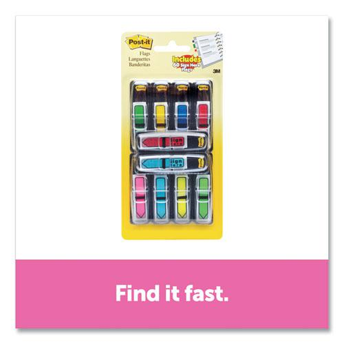 """Arrow 1/2"""" Page Flags, Assorted Primary/Brights, 252/Pack. Picture 3"""