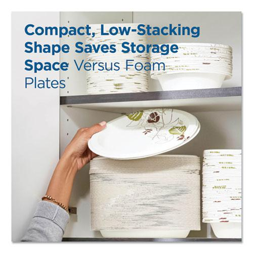"Pathways Soak Proof Shield Heavyweight Paper Plates, WiseSize, 8 1/2"", 500/Ctn. Picture 8"
