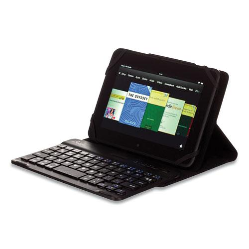 """Universal Stealth Pro Keyboard Case for 7"""" to 8"""" Tablets, Black. Picture 1"""