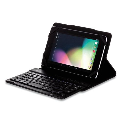 """Universal Stealth Pro Keyboard Case for 7"""" to 8"""" Tablets, Black. Picture 4"""
