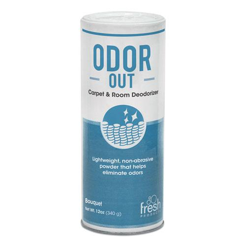 Odor-Out Rug/Room Deodorant, Bouquet, 12oz, Shaker Can, 12/Box. Picture 1