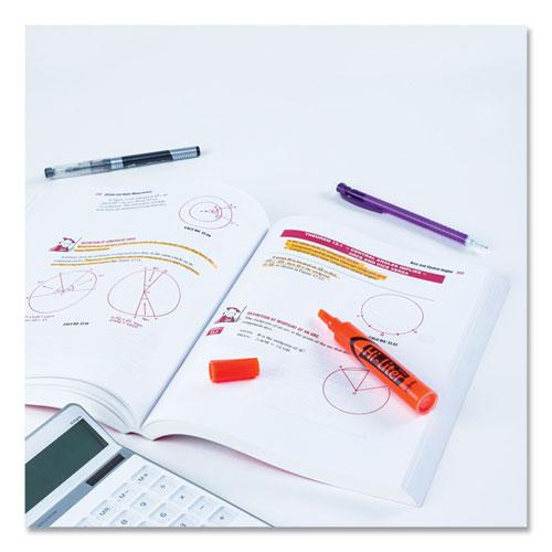 HI-LITER Desk-Style Highlighters, Chisel Tip, Fluorescent Orange, Dozen. Picture 5