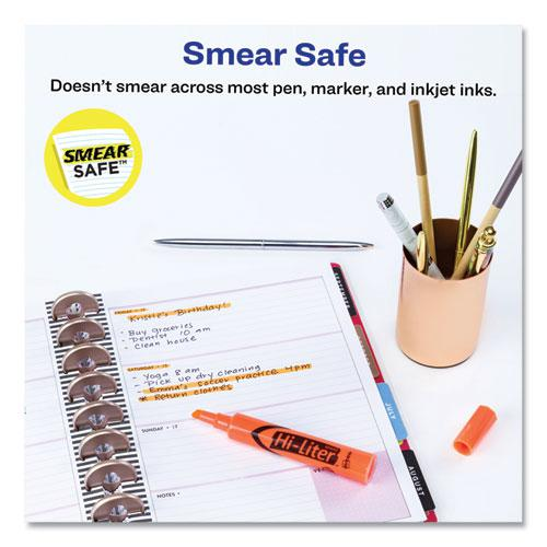 HI-LITER Desk-Style Highlighters, Chisel Tip, Fluorescent Orange, Dozen. Picture 10