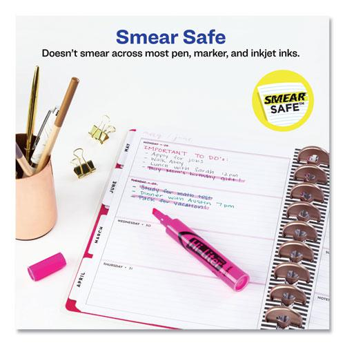 HI-LITER Desk-Style Highlighters, Chisel Tip, Fluorescent Pink, Dozen. Picture 8