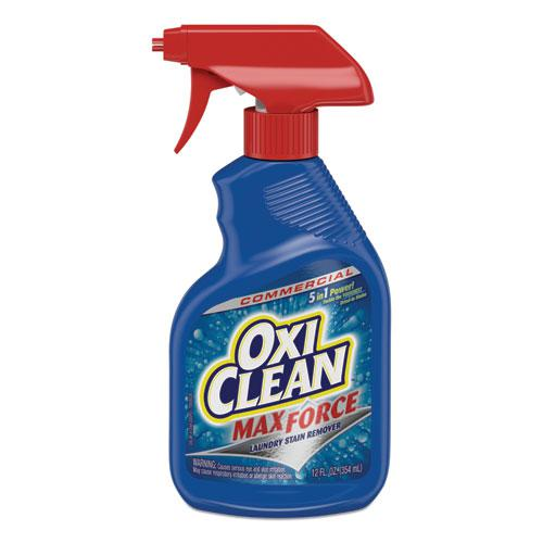 Max Force Laundry Stain Remover, 12 oz Spray Bottle. Picture 1