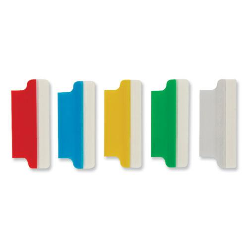 """Insertable Index Tabs with Printable Inserts, 1/5-Cut Tabs, Assorted Colors, 1.5"""" Wide, 25/Pack. Picture 3"""