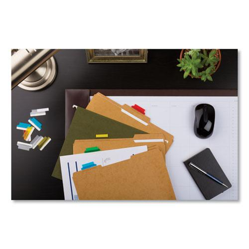 """Insertable Index Tabs with Printable Inserts, 1/5-Cut Tabs, Assorted Colors, 1.5"""" Wide, 25/Pack. Picture 2"""