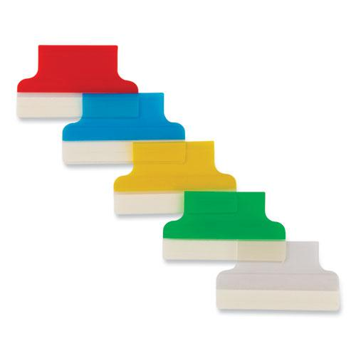 """Insertable Index Tabs with Printable Inserts, 1/5-Cut Tabs, Assorted Colors, 1"""" Wide, 25/Pack. Picture 5"""