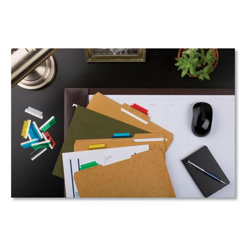 """Insertable Index Tabs with Printable Inserts, 1/5-Cut Tabs, Assorted Colors, 2"""" Wide, 25/Pack. Picture 5"""