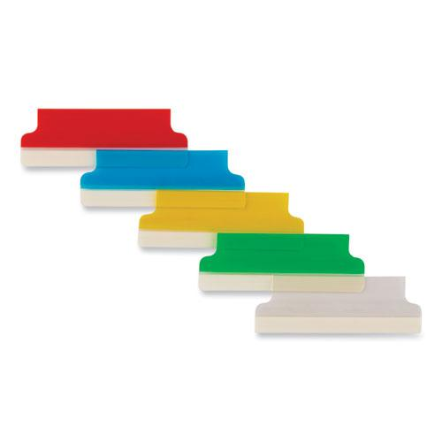 """Insertable Index Tabs with Printable Inserts, 1/5-Cut Tabs, Assorted Colors, 2"""" Wide, 25/Pack. Picture 3"""