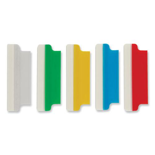 """Insertable Index Tabs with Printable Inserts, 1/5-Cut Tabs, Assorted Colors, 2"""" Wide, 25/Pack. Picture 2"""