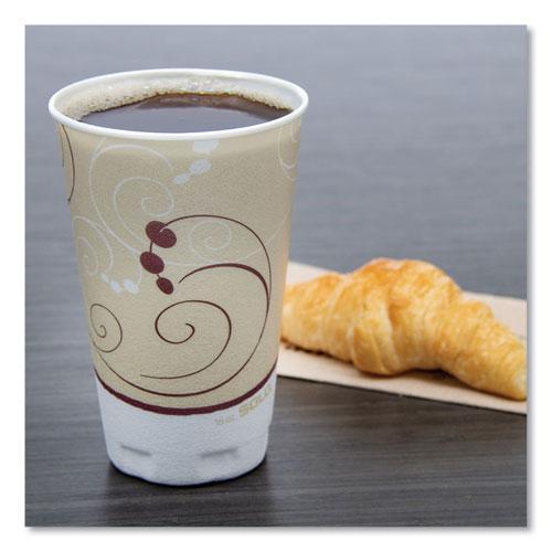 Symphony Design Trophy Foam Hot/Cold Drink Cups, 16 oz, 50/Pack, 15 Packs/Carton. Picture 2