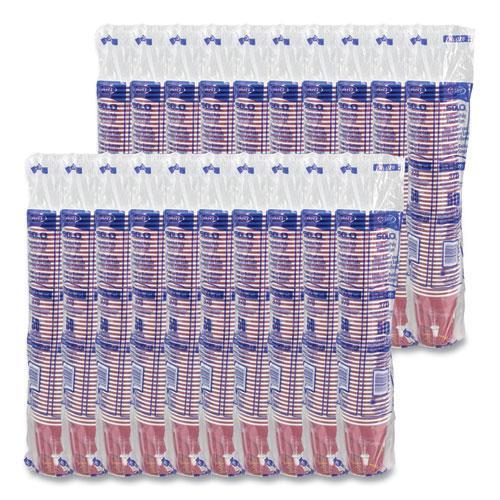 Solo Bistro Design Hot Drink Cups, Paper, 10oz, 1000/Carton. Picture 3