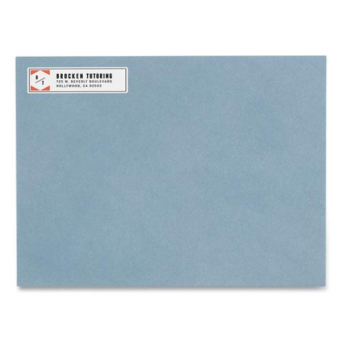 Easy Peel White Address Labels w/ Sure Feed Technology, Inkjet Printers, 0.5 x 1.75, White, 80/Sheet, 25 Sheets/Pack. Picture 4
