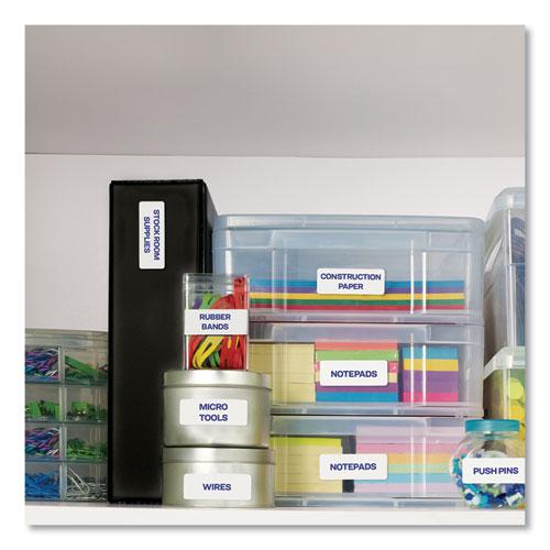 Easy Peel White Address Labels w/ Sure Feed Technology, Laser Printers, 1 x 4, White, 20/Sheet, 250 Sheets/Box. Picture 9