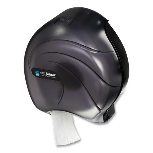 Single JBT Tissue Dispenser, Oceans, 10 1/4 x 5 5/8 x 12, Black Pearl. Picture 4