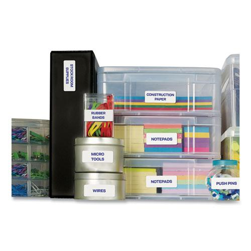 Easy Peel White Address Labels w/ Sure Feed Technology, Laser Printers, 1 x 4, White, 20/Sheet, 25 Sheets/Pack. Picture 5