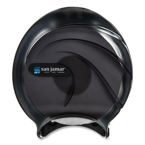 Single JBT Tissue Dispenser, Oceans, 10 1/4 x 5 5/8 x 12, Black Pearl. Picture 2