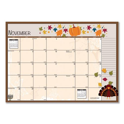 Seasonal Monthly Planner, 10 x 7, 2021. Picture 2