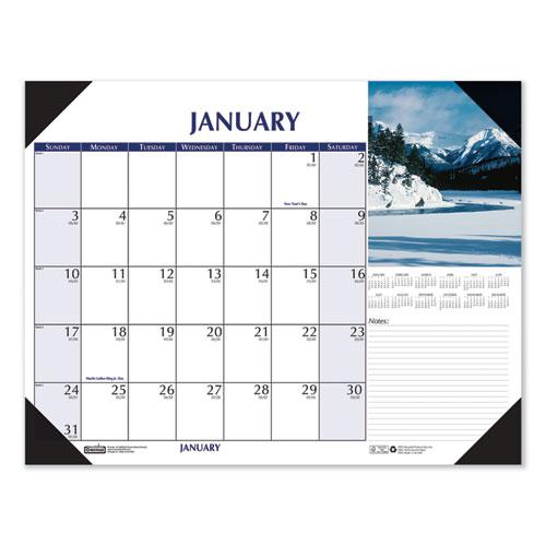 Earthscapes Scenic Desk Pad Calendar, 22 x 17, 2021. Picture 3
