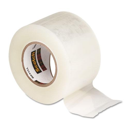 """Tear-By-Hand Packaging Tapes, 1.5"""" Core, 1.88"""" x 50 yds, Clear, 2/Pack. Picture 2"""