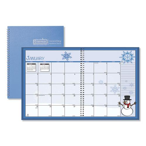 Seasonal Monthly Planner, 10 x 7, 2021. Picture 1