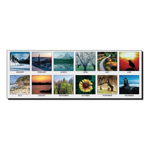Earthscapes Scenic Desk Pad Calendar, 18.5 x 13, 2021. Picture 2