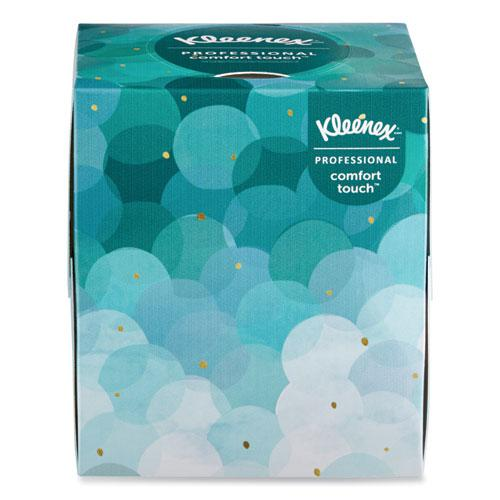 Boutique White Facial Tissue, 2-Ply, Pop-Up Box, 95 Sheets/Box, 36 Boxes/Carton. Picture 2